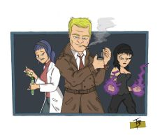 Constantine and Friends by TadBrock
