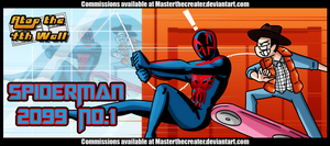 AT4W: Spiderman 2099 no.1 by MTC-Studio