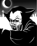 Dungeons and Dragons Inkscape Tributes - Vampire by Seothen