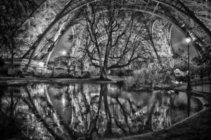 La Tour Eiffel, I've not seen her, just some trees by ateist-kleranty