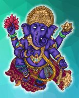 Ganesh 2014 by Insanemoe