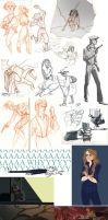 what a sketchdump 3 by captainhawkeh