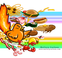 Food Fight by MallorySmallory