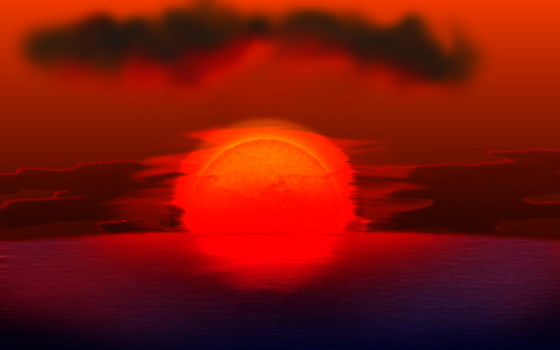 Sunset test by elfman83ml