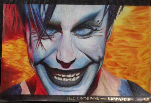 Till Lindemann - Rammstein by MaddyInVisibLe