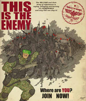 This is the Enemy by Shabazik