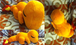 Sleepy Charmander Plush by Glacdeas