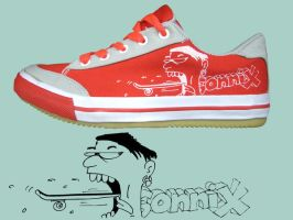 Sonnix Skate Shoes 2 by Dinuguan