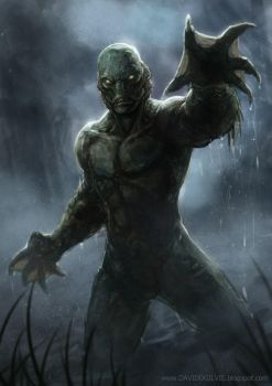 Creature from the black lagoon by ogilvie