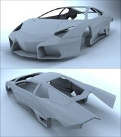 Lamborghini Reventon wip by Tom-3D