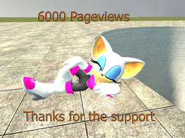 Hello baby-6000 pageviews by kamiase