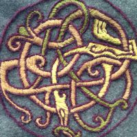 Viking embroidery by halloumi