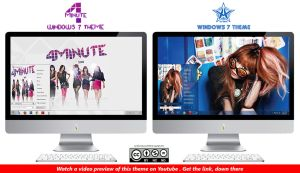 [2013 Theme] 4Minute and Kim Hyuna Win 7 by HKK98