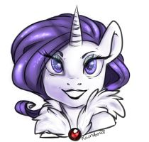 Rarity by mylittleRainbow-Time