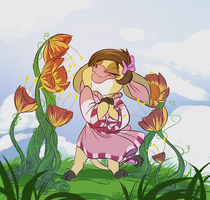 Oh my god those flowers are so big by Konnestra