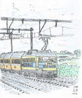 The Luxembourg Express - coloured by kanyiko