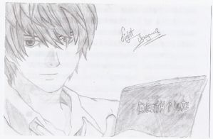 light yagami - death note by venancia