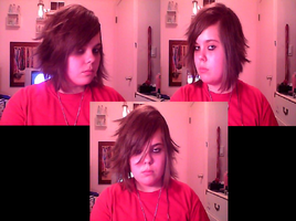 WIP: L cosplay hair and make-up by Tanahachi