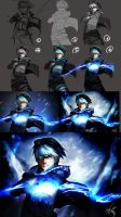step by step: Frosted Ezreal by Goditsuka