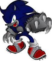Werehog Sonic Updated by MetalshadowN64