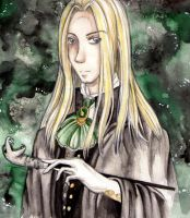 Lucius Malfoy by Acoony