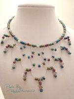 Chandelier Necklace Ebeads 47 by TheSortedBead