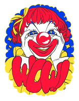 Clowny Wow by Borderline-lala-land