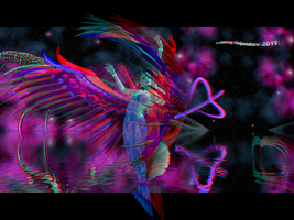 Fantasy 03 Anaglyph 3D by Osipenkov