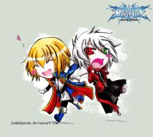 Chibis+BlazBlue by Jedaah