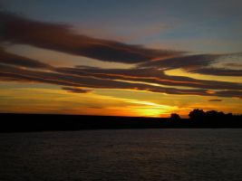 Air-brushed Sunset by Marilyn958