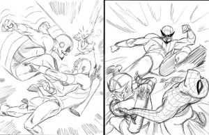 Avengers rough by BroHawk