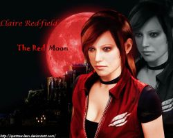 Claire REDfield ~ RED Moon by Sparrow-Leon