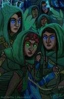 Mirkwood Elves by Mad-Hattie