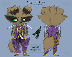 Clovis reference by aftertaster7