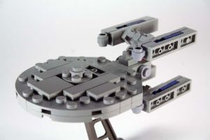 LEGO Constellation-class by amreever