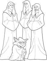 The Jedi Masters by Nes44Nes