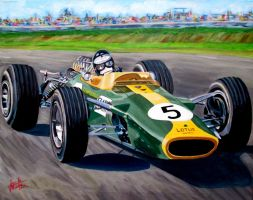 Jim Clark by JosefVonDoom
