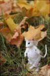 Manuna Mouse with umbrella by scargeear