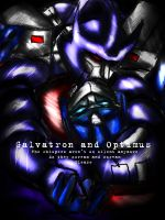 The whispers Galvatron optimus by Idigoddpairings