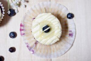 Lemon Cream Blueberry Cupcake 2 by munchinees
