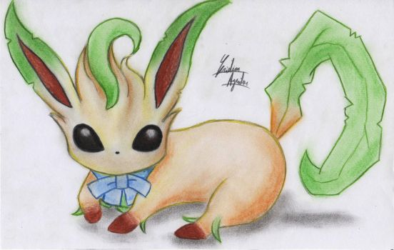 Leafeon by ChristARG