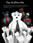 Dogs Of Celious City Promotion poster. by HollowThinker