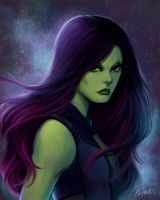 Gamora by Saehral