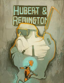 Hubert and Remington by dxtor