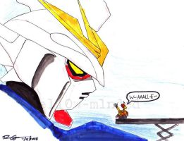 Wall.E and Wing Zero by mell0w-m1nded