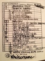 Song Listing...American Idiot by IfuckinLuvBillieJoe