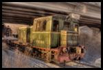 Winter Train HDR by Serrgeon