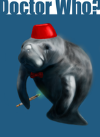 Doctor Manatee by TheJunkShoppe