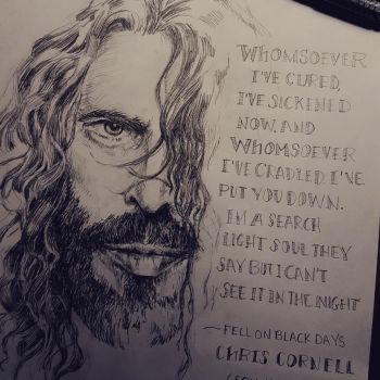 Chris Cornell by Amacdesigns