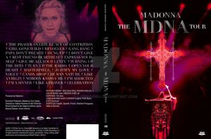 The MDNA Tour dvd cover by Ludingirra